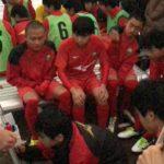 畑先生が指導する広島県立安芸南高等学校の練習の様子